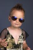 kall pojke Royaltyfri Bild