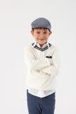 kall pojke little Royaltyfria Foton