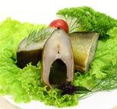 Kall-rökt fisk Arkivfoto