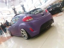 Kall saudia arabia för Hyundai bil Arkivbild