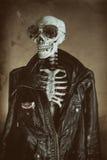 Kall skelett- tappning Arkivfoto