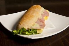 Kall smörgås Royaltyfri Bild