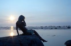 kall sommar Arkivfoton