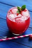 Kall tranbärfruktsaft Royaltyfri Bild