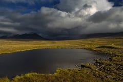 Kall tundra i de polara bergen Royaltyfri Foto