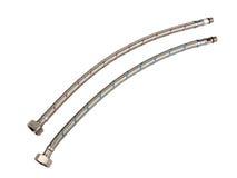kall varm metall pipes vatten Arkivfoto