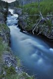 kall vattenfall Arkivbilder