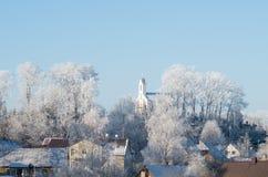 kall vinter Arkivfoton