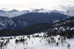 Kalla berg -- Horisontal Arkivbilder