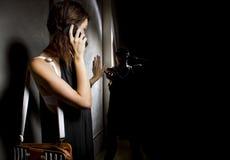 Kalla 911 för hjälp Royaltyfri Bild