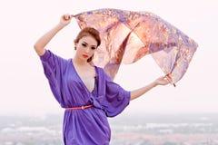 kalla flickor model tonårs- Royaltyfria Bilder