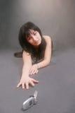 kalla hjälpkvinnan fotografering för bildbyråer