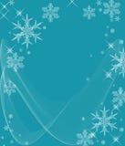 kalla icy snowflakes stock illustrationer