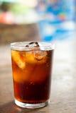 Kalla iskalla drinkar Fotografering för Bildbyråer