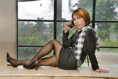 kalla klänningen formell flicka Royaltyfria Bilder