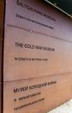 Kalla krigetmuseum Royaltyfria Foton