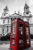 kalla london Arkivbild