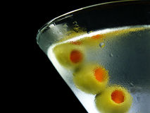 kalla martini arkivfoton