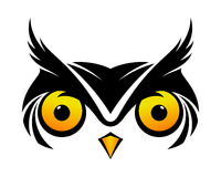 Kalla Owl Symbol Royaltyfria Foton