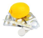 kalla vitaminer Arkivbild