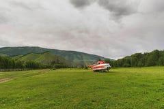 kallad mer grosser speer för helikopterbergberg Arkivfoton