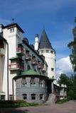 kallad slottjugend gammal valtionhotelli royaltyfria foton