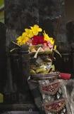 Kallade hinduiska Offerings för Balinese Canang Royaltyfria Foton
