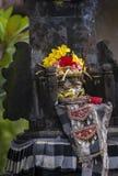 Kallade hinduiska Offerings för Balinese Canang Arkivfoto