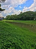 Kallang river canal, Singapore Royalty Free Stock Photography