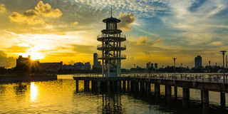 Kallang River Royalty Free Stock Image
