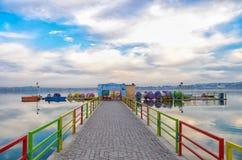 Kallar Kahar湖巴基斯坦 库存图片