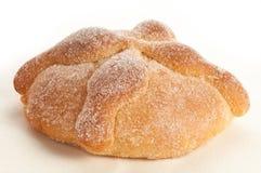 Kallat sött bröd (Pan de Muerto) fotografering för bildbyråer