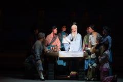 """Kalligraf-Shanxi Operatic""""Fu Shan till Beijing† Arkivfoto"""