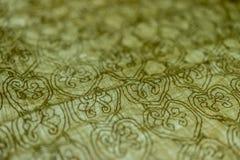 Kalligrafie, Oud die boek met de hand door de monniken tijdens Th wordt geschreven royalty-vrije stock fotografie