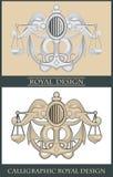 Kalligrafisch ontwerp Royalty-vrije Stock Foto