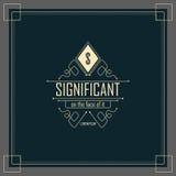 Kalligrafische Elegante Ornamentlijnen Royalty-vrije Stock Afbeelding