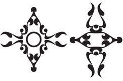 Kalligrafische helpers Royalty-vrije Stock Afbeeldingen