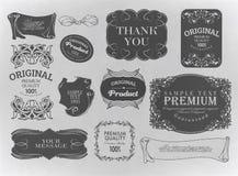 Kalligrafische ontwerpelementen Stock Afbeelding