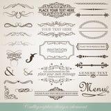 Kalligrafische ontwerpvector Stock Afbeeldingen