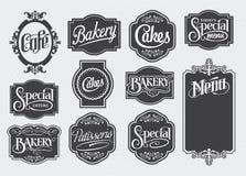 Kalligrafische uitstekende tekens Royalty-vrije Stock Foto