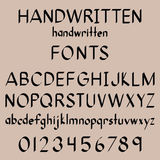 Kalligrafistilsorter Royaltyfri Fotografi