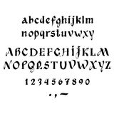 Kalligraphie Stockfoto