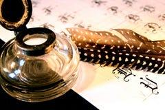 Kalligraphie stockfotos