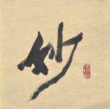 Kalligraphie - wundervoll lizenzfreie stockbilder