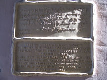 Kalligraphische Beschreibung lizenzfreie stockfotografie