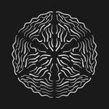 Kalligraphische Elemente für unterschiedliches Design Stockfoto