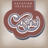 Urlaubspacket-Kasino Lizenzfreie Stockfotografie