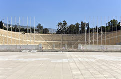 Kallimarmaro stadium at Athens, Greece Stock Images