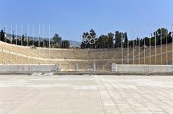 Kallimarmaro stadium at Athens, Greece Stock Images
