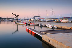 Kallithea marina w Ateny Zdjęcia Royalty Free